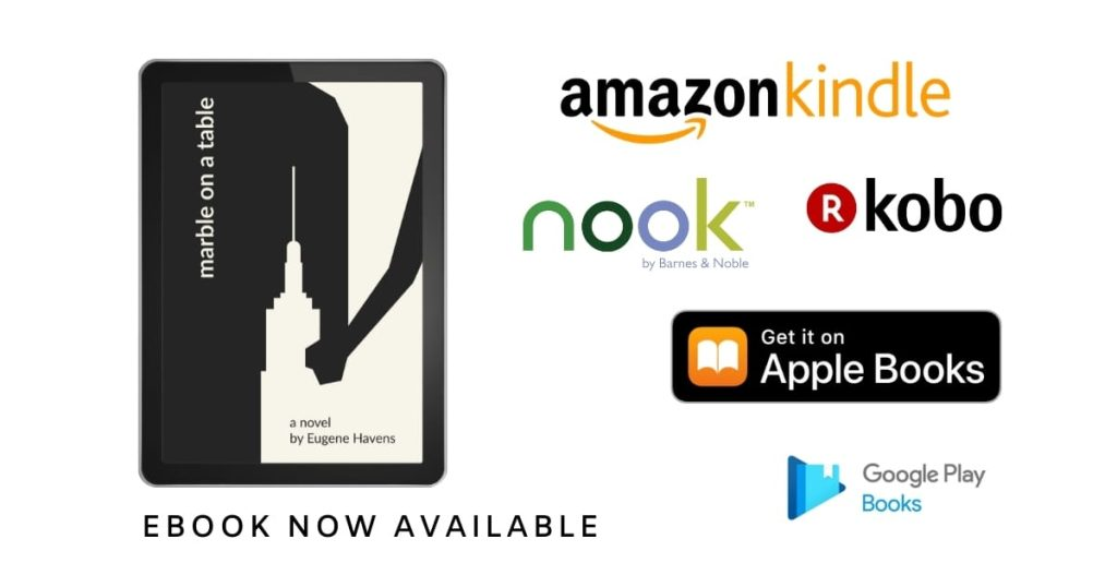 eBook now available | Marble on a Table: A Novel